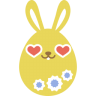Yellow-love icon