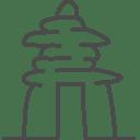 canada inuksuk icon