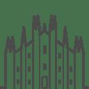 Milan duomo icon