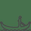 Venice gondola icon