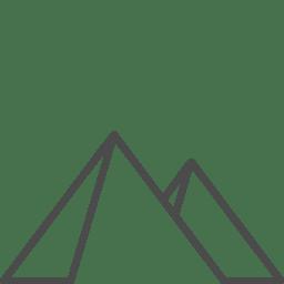 egypt pyramids icon