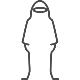 Hijab woman icon