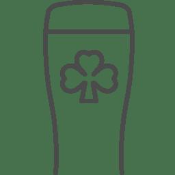 irish beer icon