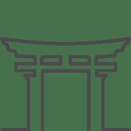 Japan torii icon