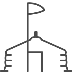 mongolia yurt icon