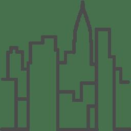Newyork manhattan icon