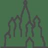 Moscow-basil icon