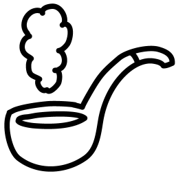 Pipe outline icon