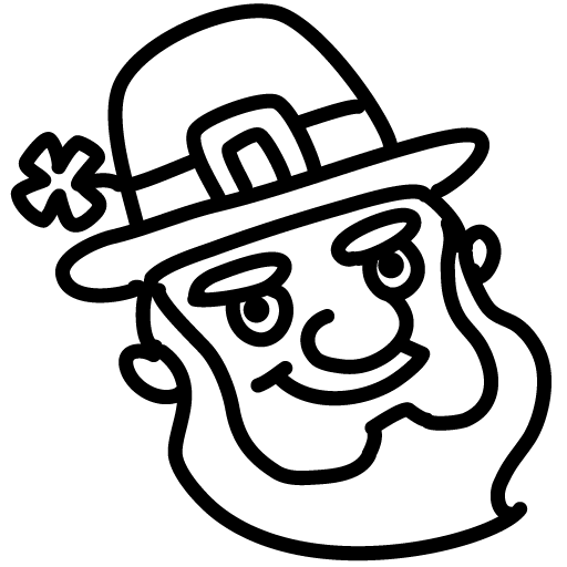 Leprechaun-outline icon