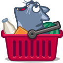 cat cart icon