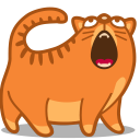 Cat sing icon