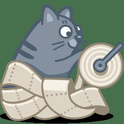 cat paper icon