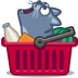Cat-cart icon