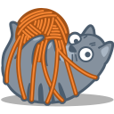 http://icons.iconarchive.com/icons/iconka/meow/128/cat-tied-icon.png