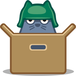 Cat box icon