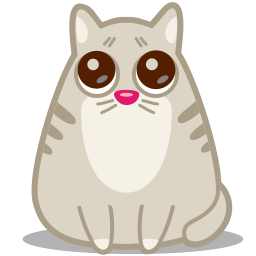 Cat eyes icon