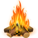 http://icons.iconarchive.com/icons/iconka/pioneer-camp/128/fire-icon.png