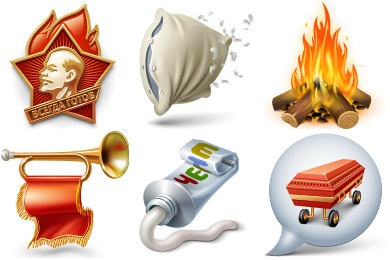 Pioneer Camp Icons