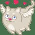 Cat-cupid-love icon
