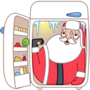 santa fridge icon