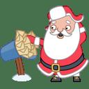 Santa mail mailbox icon