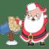 Santa-mail-mailbox icon