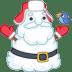Santa-snowman icon