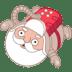 Santa-spaceman-astronaut icon