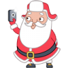 http://icons.iconarchive.com/icons/iconka/santa-stickers/96/santa-selfie-icon.png
