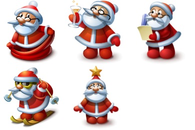 Santa Icons