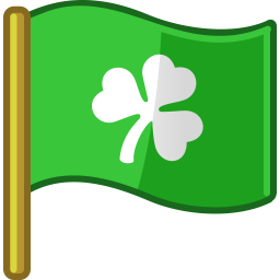 flag st patrick icon