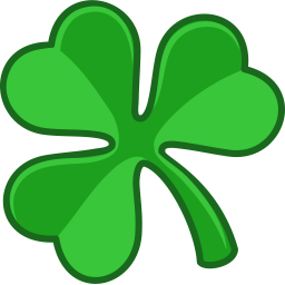 Shamrock icon st patricks day iconset iconka artist iconka available for custom work iconset st patricks day icons 12 icons license linkware backlink to httpiconka required voltagebd Images