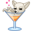 Dog-cocktail-alkohol icon