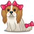 Dog-bows icon
