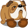 Dog-boxer icon
