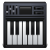 Piano-keyboard icon
