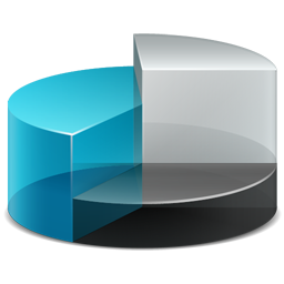 chart pie chart icon