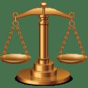 Justice balance icon