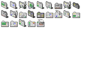 Mechanic Folders Icons
