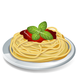 Dish Pasta Spaghetti Icon 3d Food Iconset Icons Land