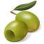 Fruit-Olive-Green icon