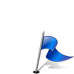 Flag3RightBlue icon