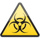 Documents-BiologicalHazard-Symbol-Triangle icon