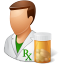 People-Pharmacist-Male icon