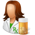 People-Pharmacist-Female icon