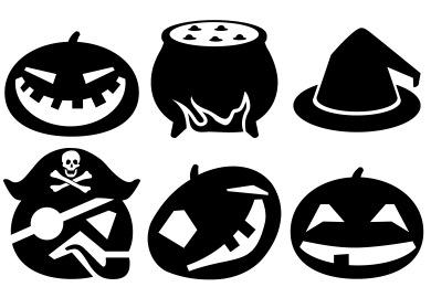 Metro Halloween Icons