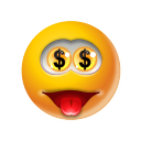 Emoticon Money icon