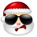 Santa-Claus-Cool icon