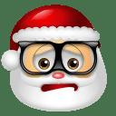 Santa Claus Nerd icon