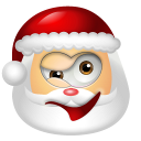 Santa Claus Wink icon